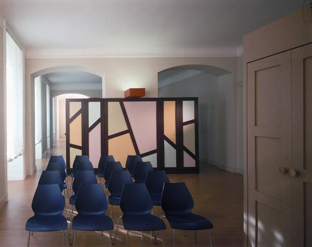 Massimo mariani architetto interni uffici cabel a milano - Architetto interni milano ...